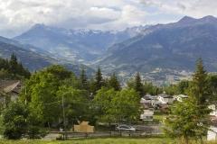Camping Soleil E Neige, Gressan, Aosta, Italië