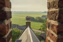 Hollandse polder view