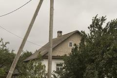 Ooievaarsnest in Belarus