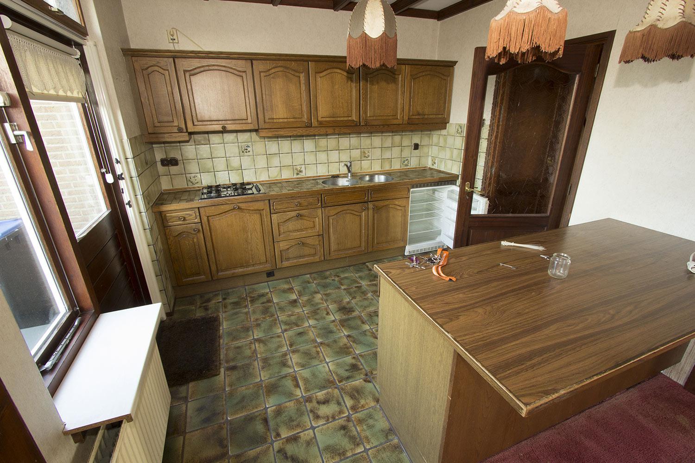 De keuken hoe het was...